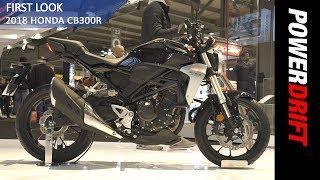 2018 Honda CB300R : EICMA 2017 : PowerDrift