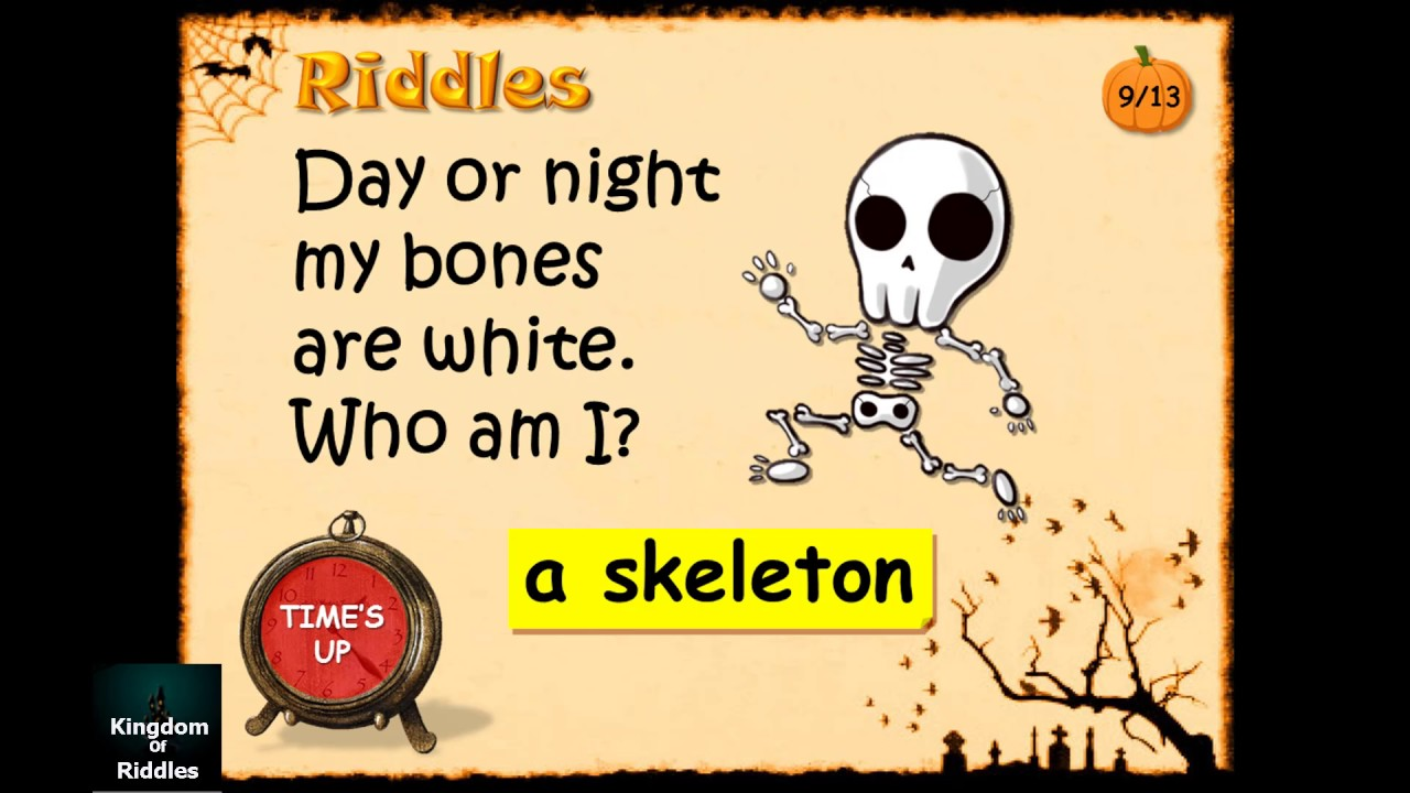 Who Am I - Funny Halloween Riddles With Answer To Share With Kids ...