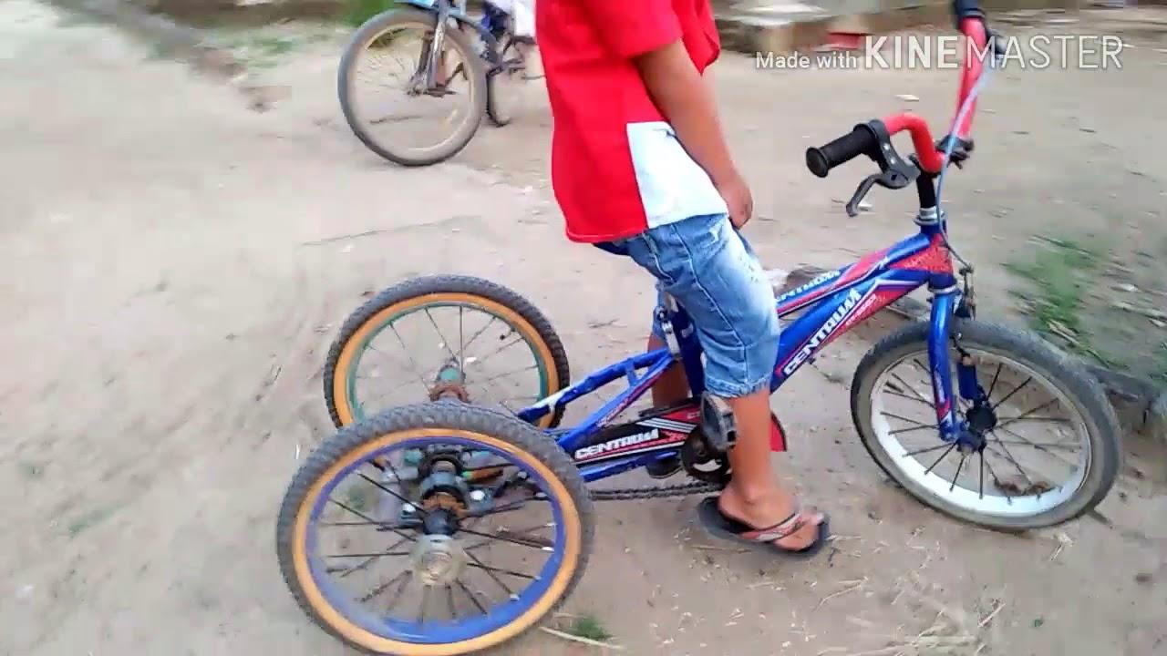 Modifikasi Sepeda Roda 3 Tips Anak Cepat Bisa Youtube