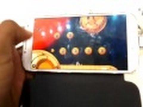 Samsung Galaxy S4 - Teste de Jogos - Processador - Hands-On Brasil (Português)