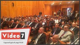 وفد برلمانى يضم أعضاء لجنة الدفاع يزور مصنع 200 الحربى بأبو زعبل