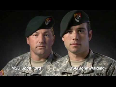 Master Sgt. Scott Ford and Sgt. 1st Class John Walding - U.S. Army Faces of Strength