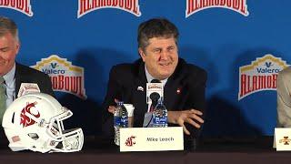 Valero Alamo Bowl Head Coaches Press Conference Dec. 6