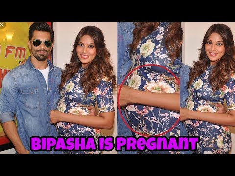 Confirmed : Karan Singh Grover's wife Bipasha Basu is 4 month pregnant😍