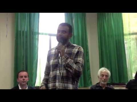Justice for Palestine End the Siege Gaza :  Shamil Joarder, Friends of Al Aqsa 07 08 2014