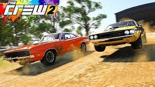 THE CREW 2 ШАШКИ - Dodge Challenger И Do...