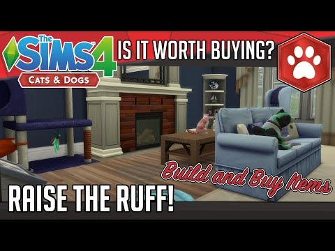 Is It Worth Buying - The Sims 4 Cats and Dogs Expansion - Build and Buy Items