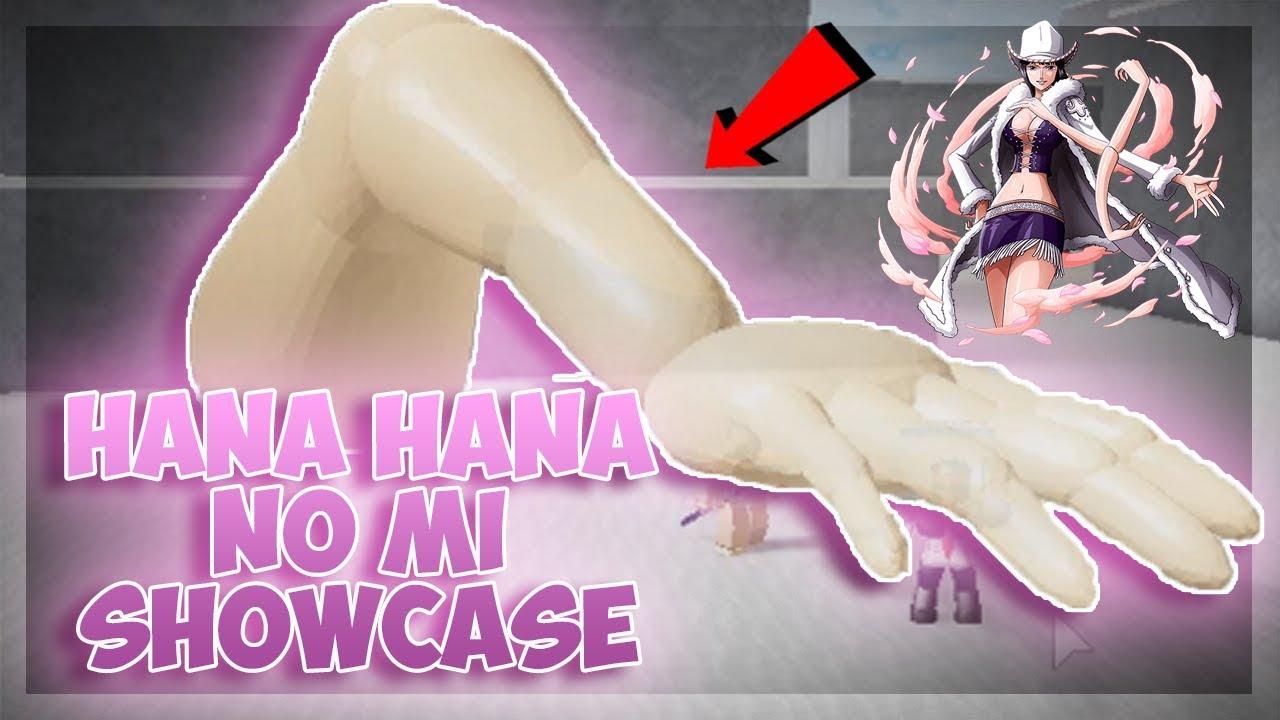 HANA HANA NO MI SHOWCASE! | One Piece Final Chapter 2 | ROBLOX