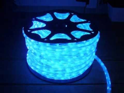 Neon blue chasing led rope light kit youtube neon blue chasing led rope light kit aloadofball Gallery