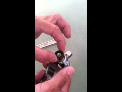 Valve washer replacement - YouTube