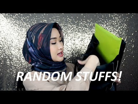 What's In My Campus Bag 2018 + How I Study (Bahasa) | Kiara Leswara