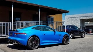 Jaguar F-Type SVR 2017 Videos