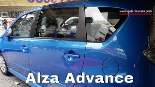 Perodua Alza Advance Ocean Blue
