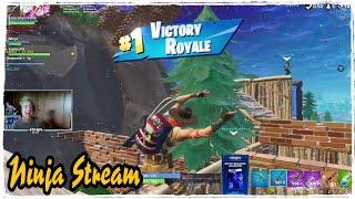 Ninja Fortnite Stream#33 - Sash Sergeant Skins Game Plays - Imtimthetatman & SypherPK & BasicollyDo