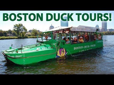 BOSTON DUCK TOUR!