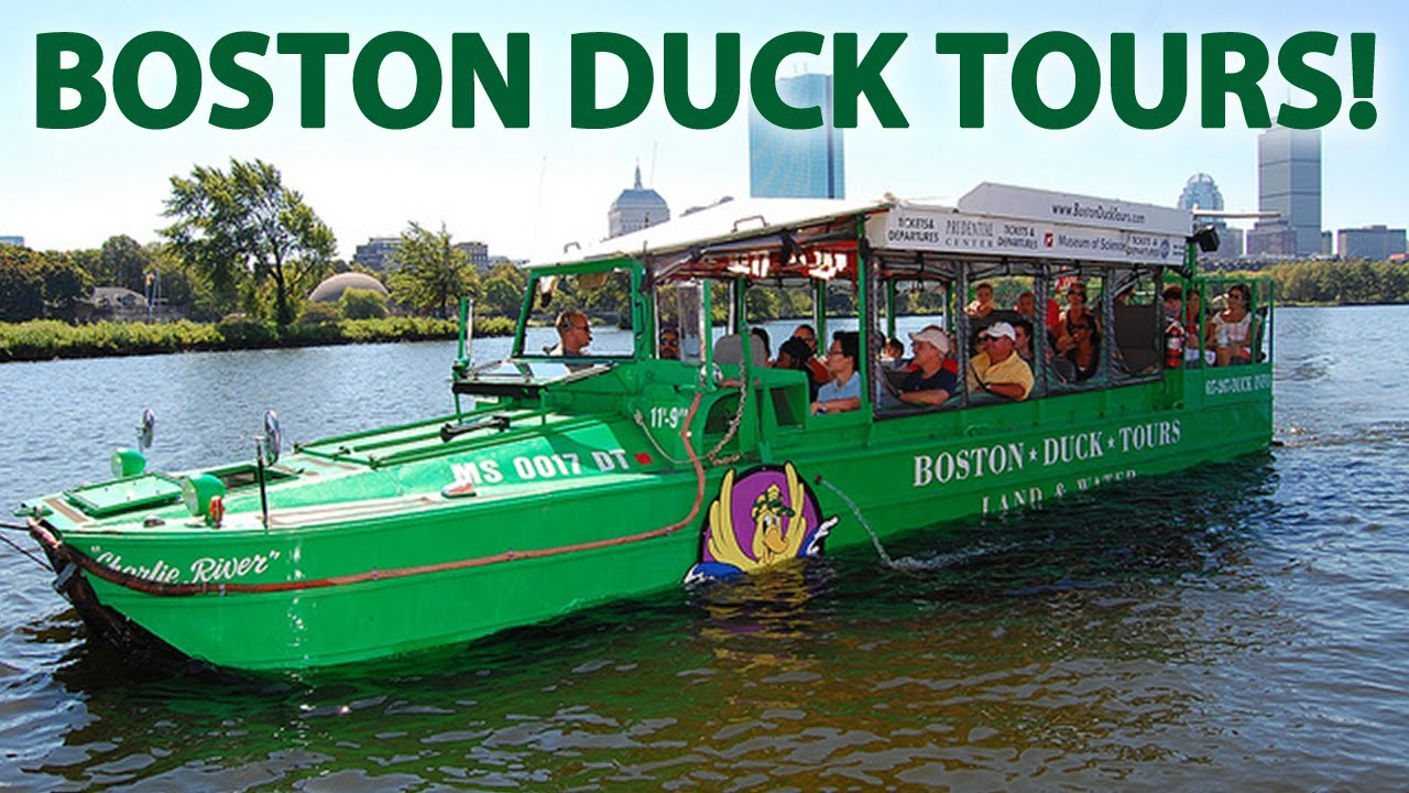 Boat Duck Tour Boston