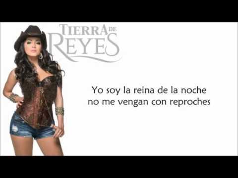 Reina de la Noche letra - Patricia Rubio/Daniella Navarro - Tierra de Reyes