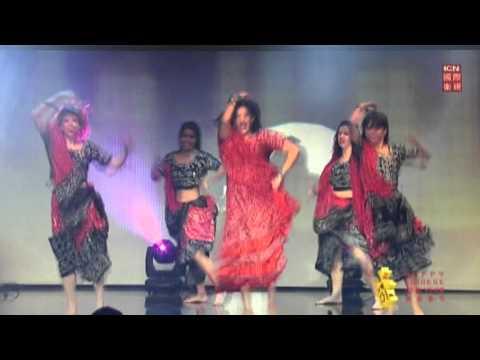 ICN Chinese New Year Gala Blue 13 Dance Company performance