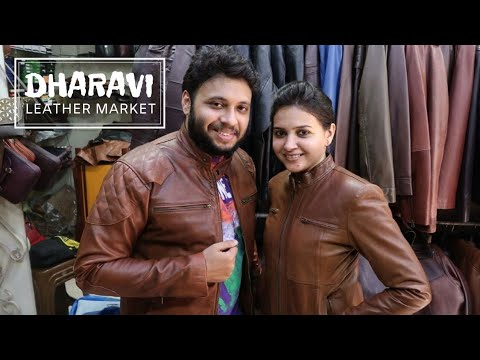 DHARAVI LEATHER MARKET | Mumbai | Leather jackets at a cheap
