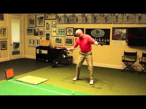 Jim McLean Trackman - Understanding Swing Direction and Angle of Attack