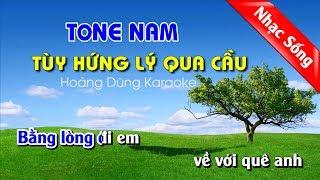 Tùy Hứng Lý Qua Cầu Karaoke Nhạc Sống cha cha cha