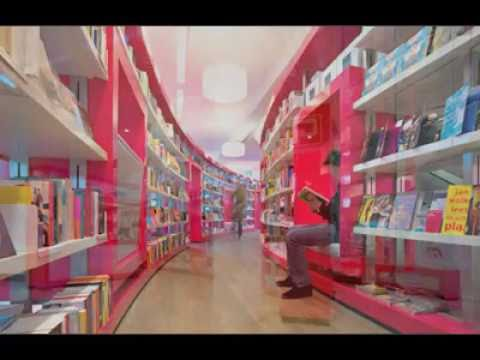 Amazing Bookstore Design
