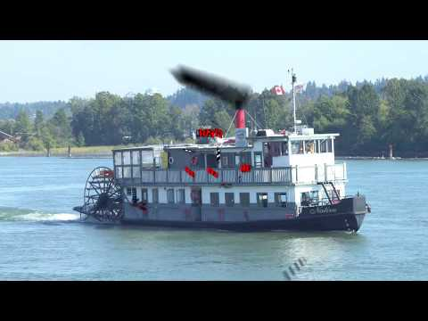 Vancouver Paddlewheeler Riverboat Tours and Cruises - Scenic BC from the Fraser River point of View!