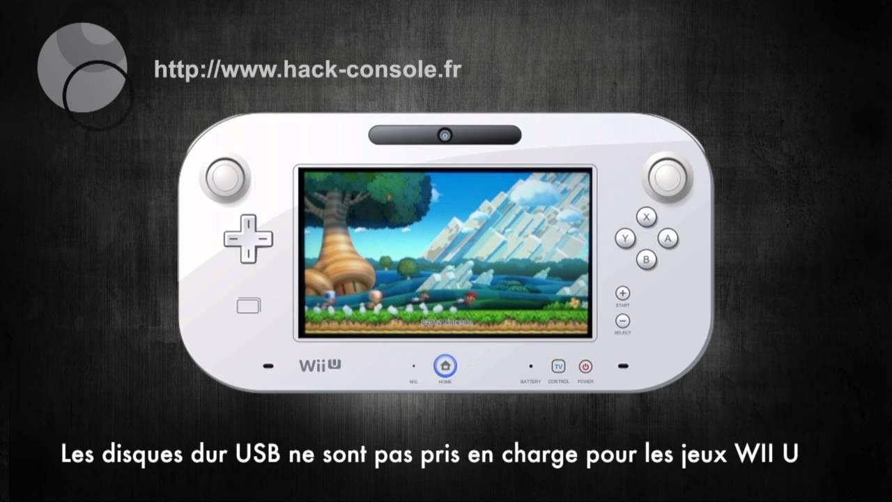 Tutoriel : Lancer un Backup de Jeu WII U by hack-console fr