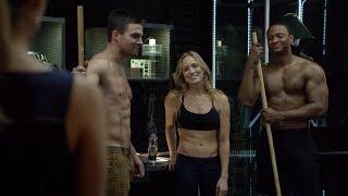 Arrow partes engraçadas 3 temporada