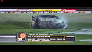 Ryan Newman restrictor plate crashes