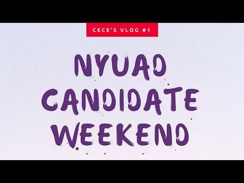 NYUAD CANDIDATE WEEKEND ED1 | vlog