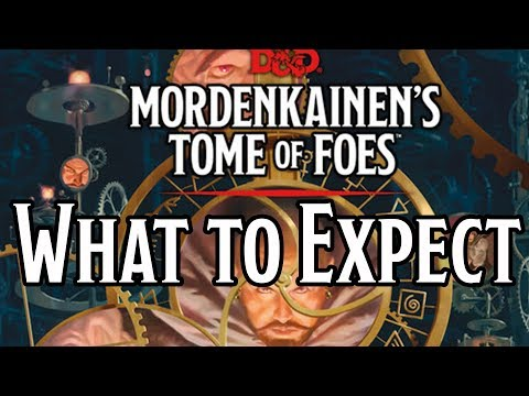 D&D 5th Edition RPG: Mordenkainen's Tome of Foes (Alternate