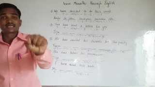 Learn Marathi through English.