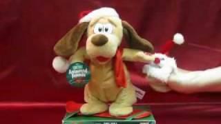 Dandee Christmas Animated Dog
