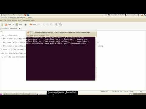 Hijack linux system calls