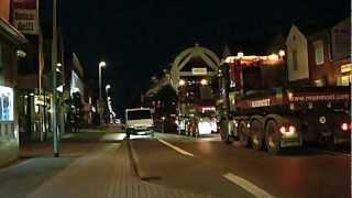 Schwertransport Winkels Kleve 26.07.12 515 Tonnen 50m Lang