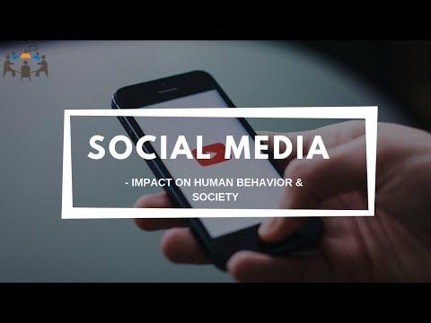 Social Media - Impact on Human behavior & society   GD Topic