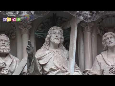 Catalunya: Catifes, alfombras, ephemeral art carpets in Montserrat