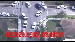 louis country, northwest miami, Police Chase