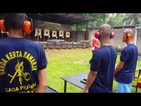 SATPAM GARDA KERTA RAHARJA - Praktek Menembak II