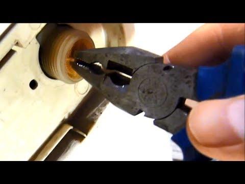 Как почистить входной фильтр подачи воды в стиральной машине