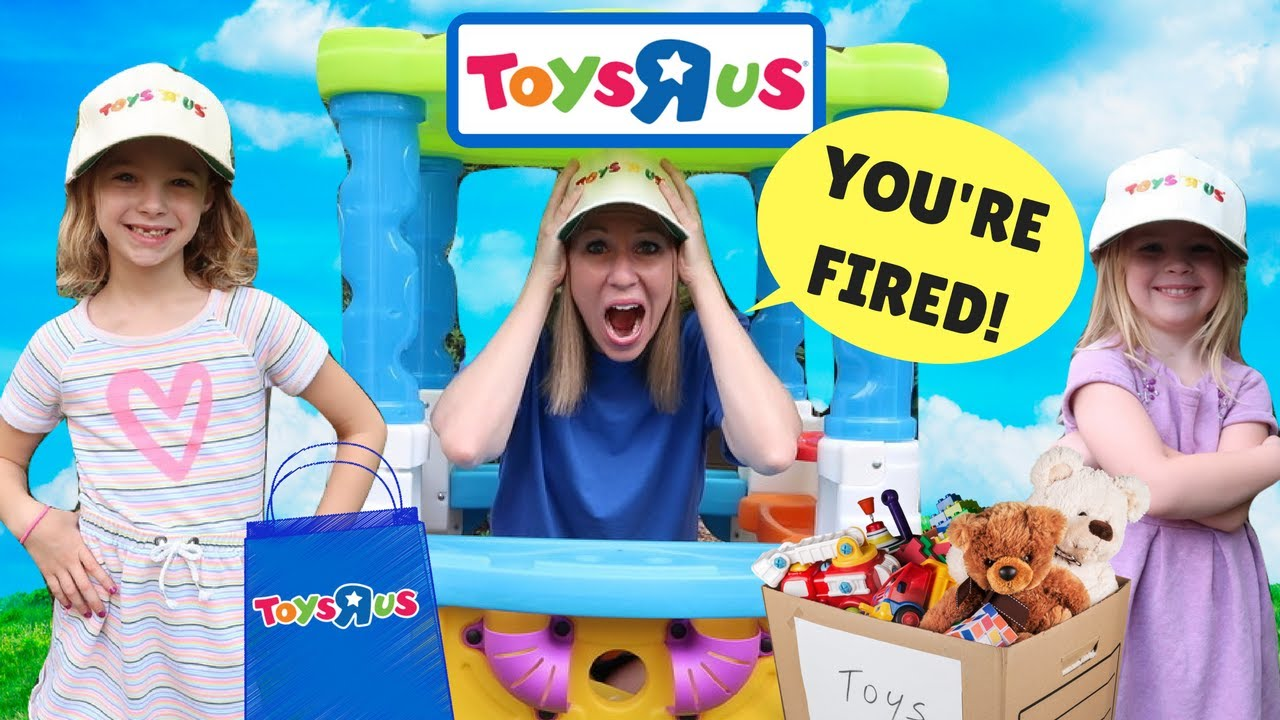 Kids Make SILLY Fake Toys R US Workers !!! - YouTube