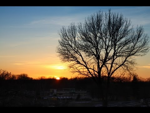 How to post process sunset images in GIMP 2.8 tutorial thumbnail
