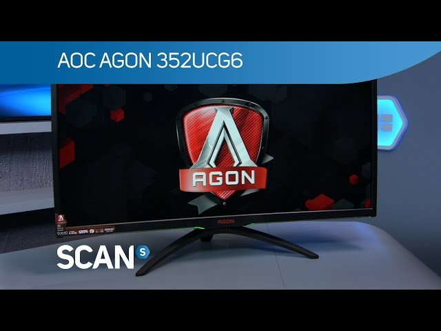 AOC AG352UCG6 ultrawide gaming monitor with 120Hz & G-Sync - Product Overview