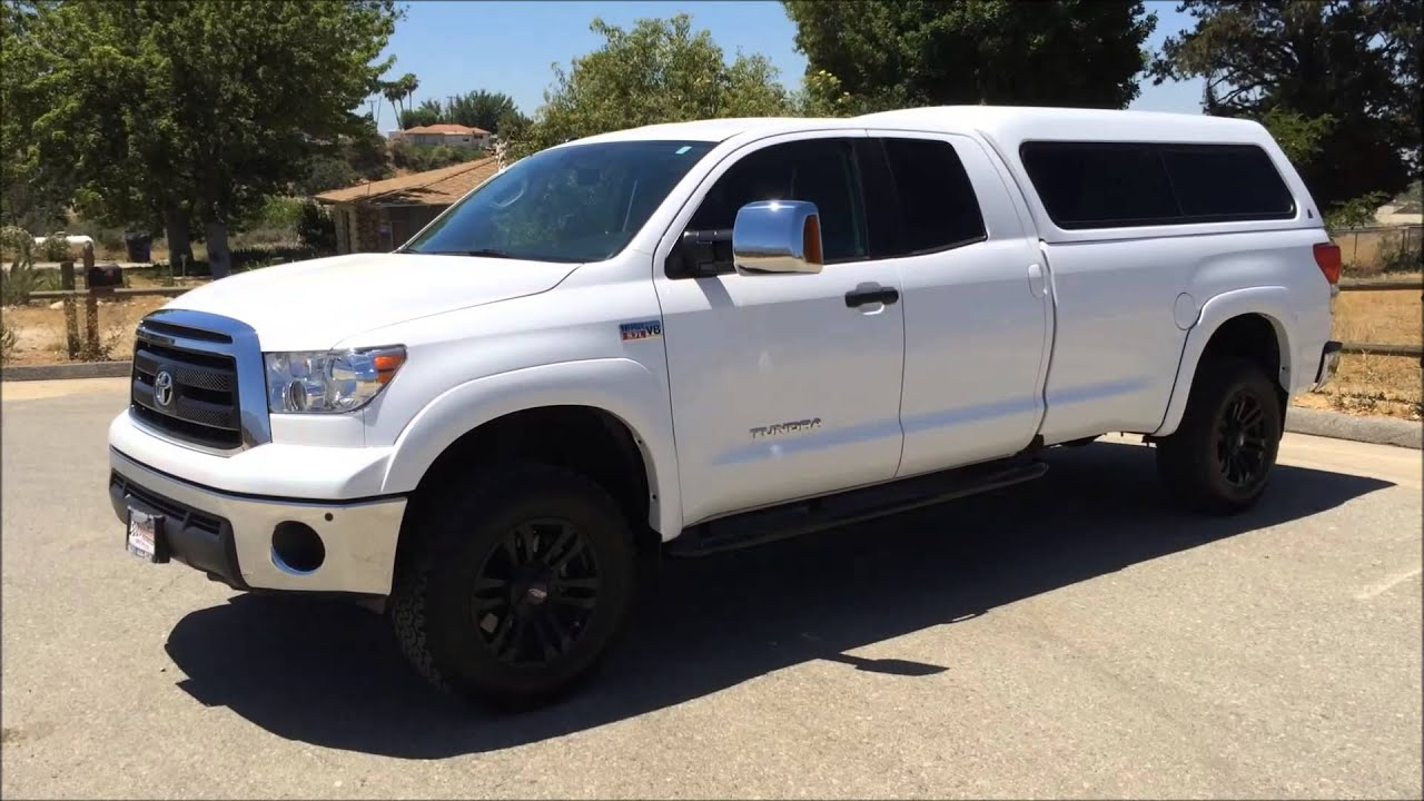 Toyota Tundra Double Cab Long Bed Length