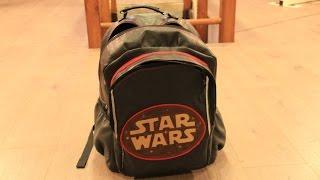 Школьный рюкзак. Легко сделать самому. School rucksack.