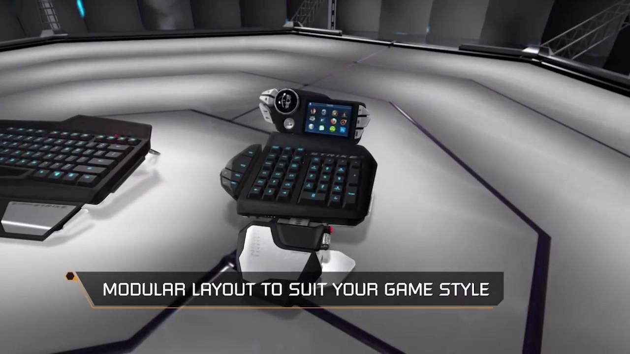 Mad catz cyborg s. T. R. I. K. E 7 keyboard drivers download update.