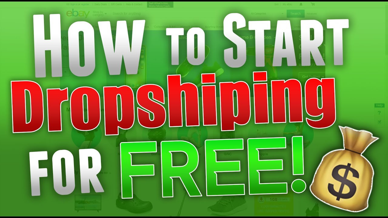 How to Start Dropshipping for FREE!! (Make $100+ a Week)