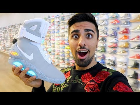 $60,000 AUTO LACING NIKE MAGS !!!