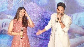 Ayushmann & Bhumi Pednekar's FUNNY Double Meaning Jokes At Shubh Mangal Saavdhan Trailer Launch